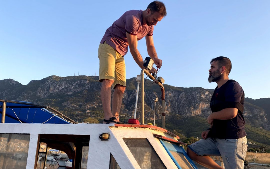 LoRaWAN vessel tracking for small-scale fisheries, SPOT, North Cyprus